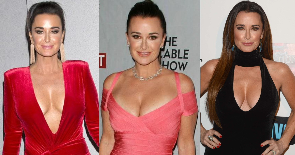61 Hottest Kyle Richards Boobs Pictures Are As Tight As Can Be