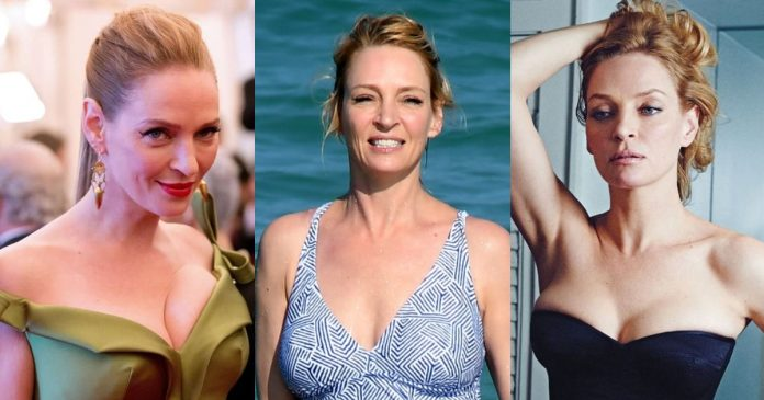 61 Hottest Uma Thurman Boobs Pictures Are Arousing And Appealing