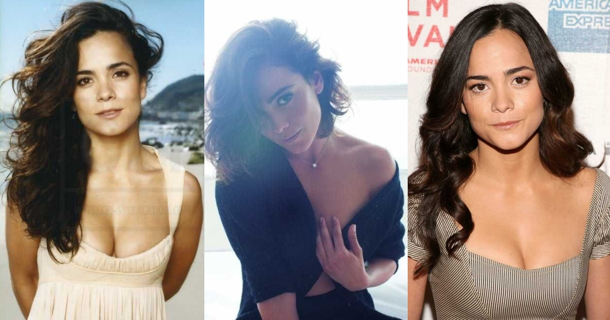 61 Sexiest Alice Braga Boobs Pictures Will Make You Feel Thirsty For Her Melons