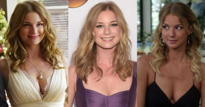 61 Sexiest Emily VanCamp Boobs Pictures Will Tempt You To Bury Your Head In-between
