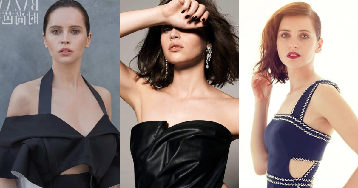 61 Sexiest Felicity Jones Boobs Pictures Show Off Her Awesome Bosoms