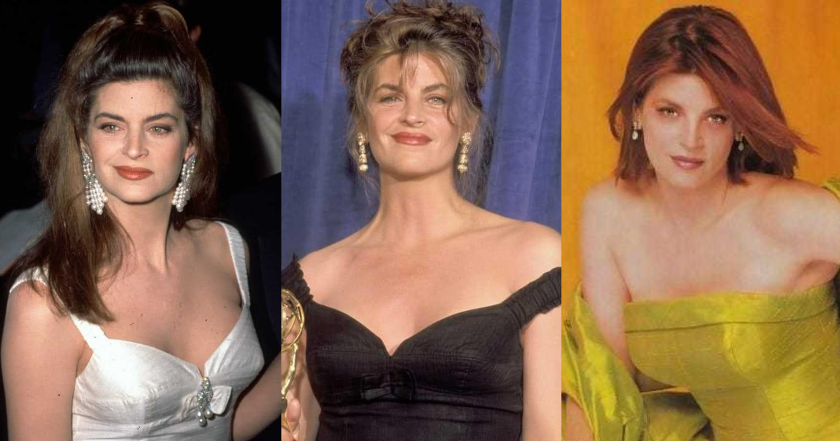 61 Sexiest Kirstie Alley Boobs Pictures Show Off Her Awesome Bosoms