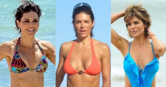 61 Sexiest Lisa Rinna Boobs Pictures Will Have You Staring At Them All Day Long