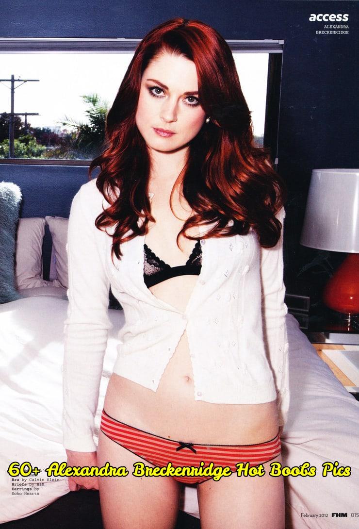 Alexandra Breckenridge hot boobs pics