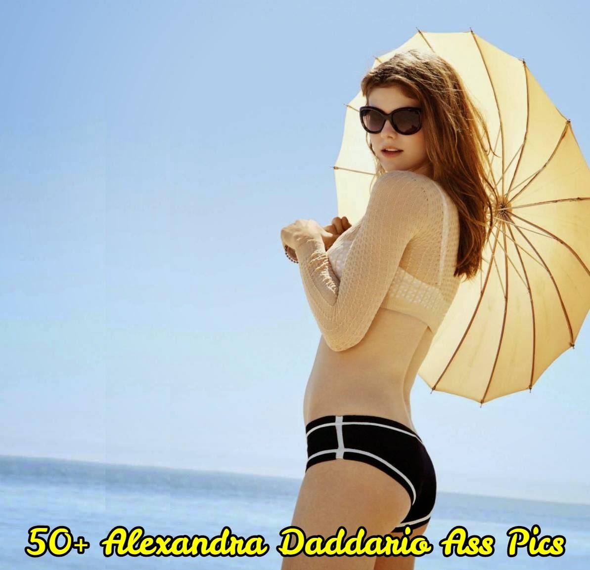 Alexandra Daddario ass pics