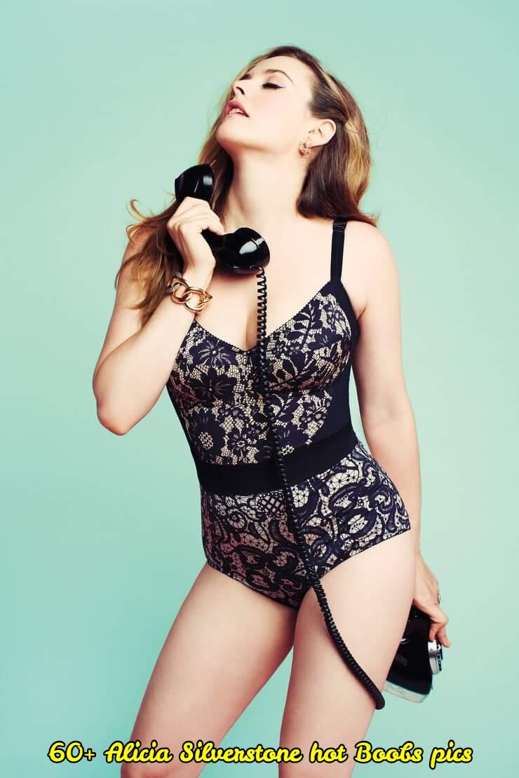 Alicia Silverstone hot boobs pics
