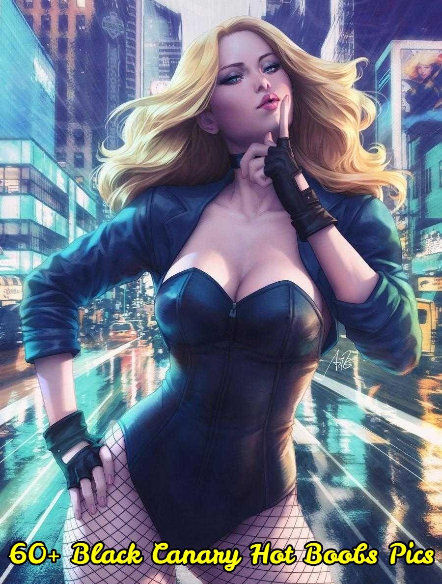 Black Canary hot boobs pics