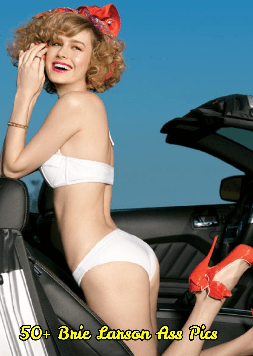 Brie Larson ass pics