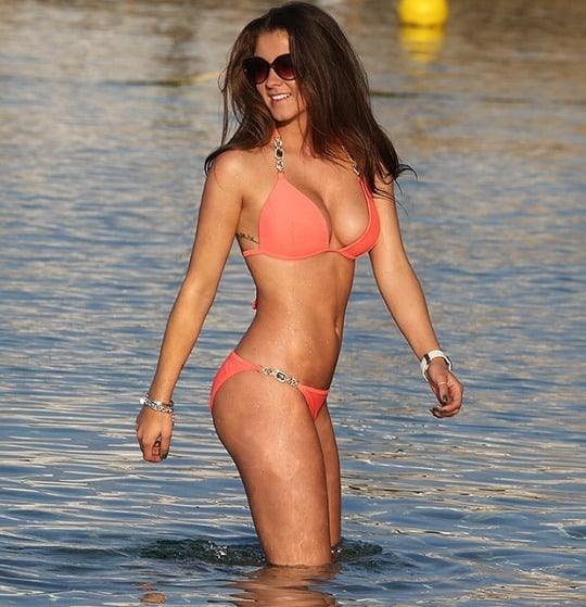 Brooke Vincent hot bikini pics