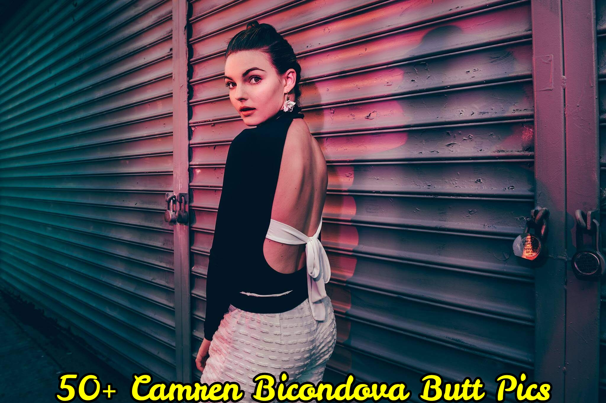 Camren Bicondova butt pics.