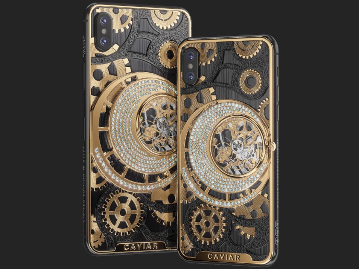 Caviar iPhone XS Max (Gold Black)