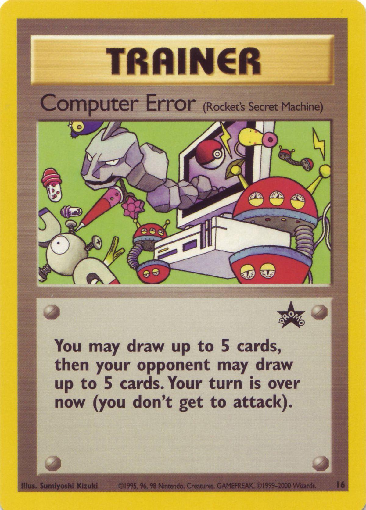 Computer Error – Kamex Mega Battle Card