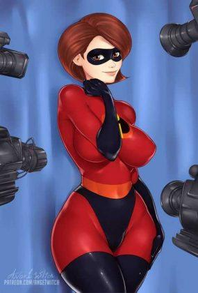 Elastigirl hot photo