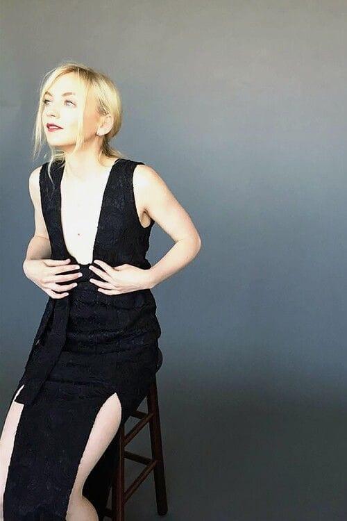 Emily Kinney busty look pics