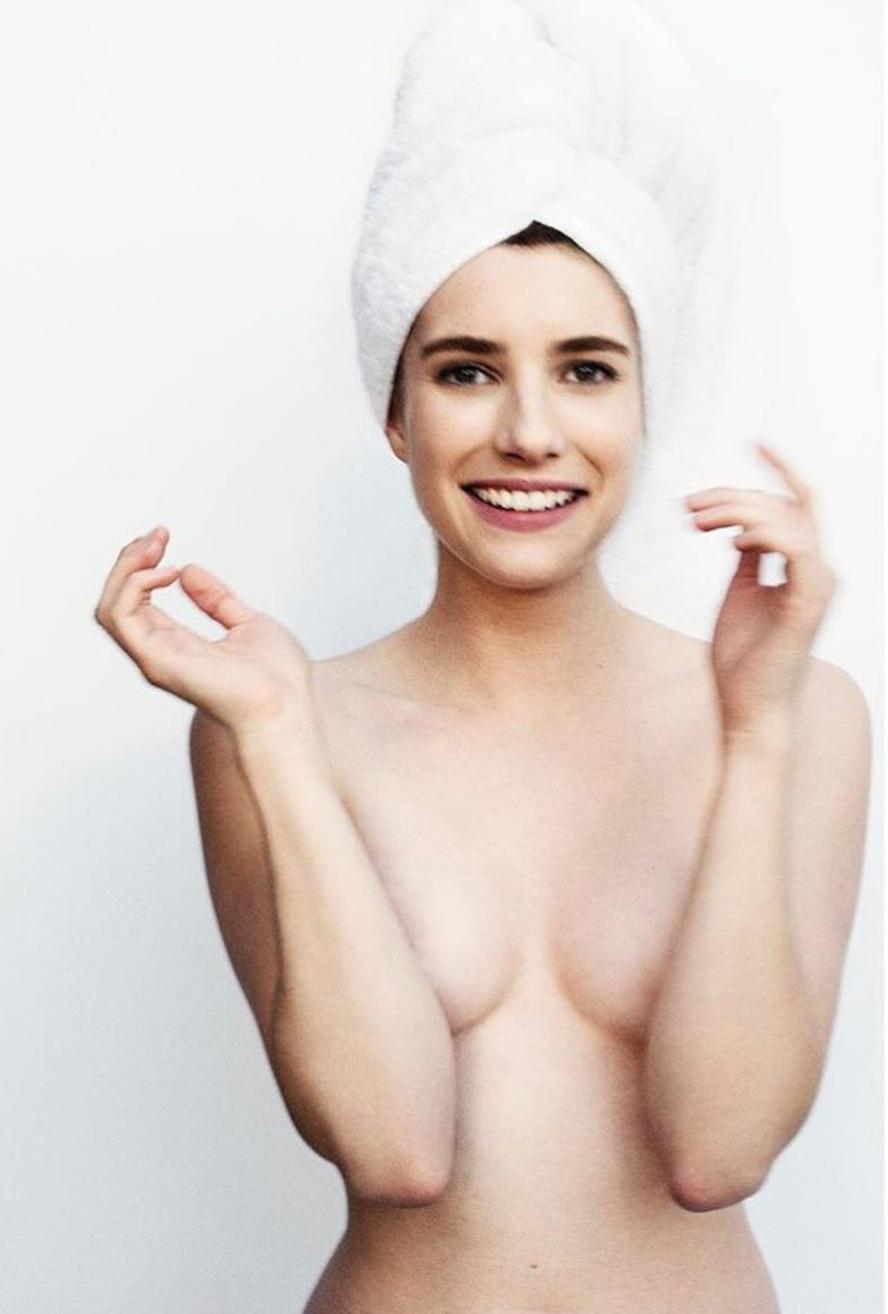 Emma Roberts topless pic