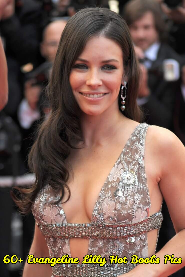 Evangeline Lilly hot boobs pics