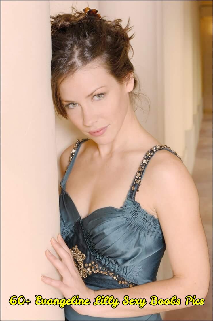 Evangeline Lilly sexy boobs pics.