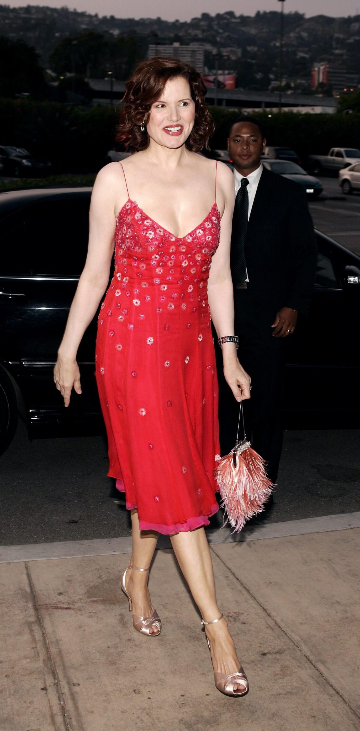 Geena Davis hot look pics