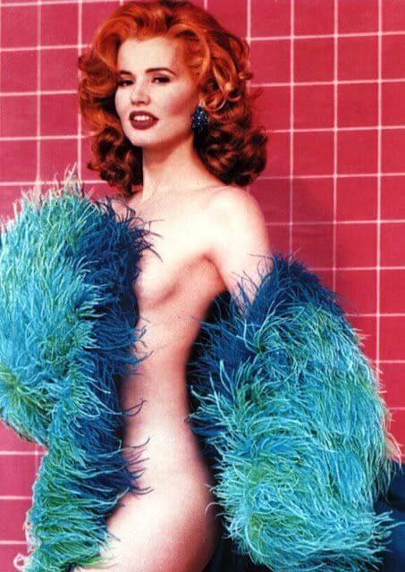 Geena Davis hot