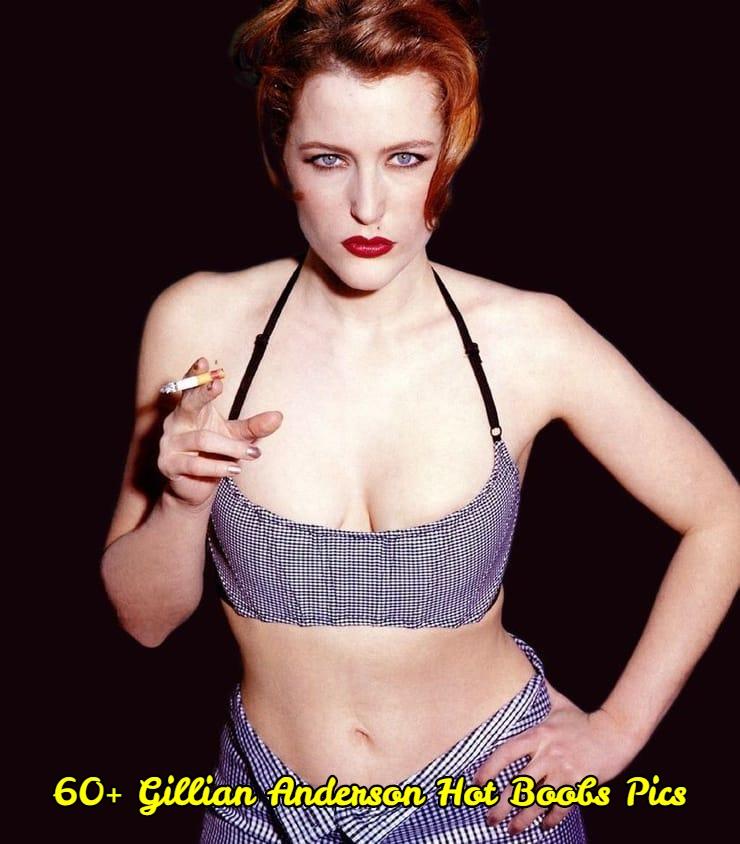 Gillian Anderson hot boobs pics