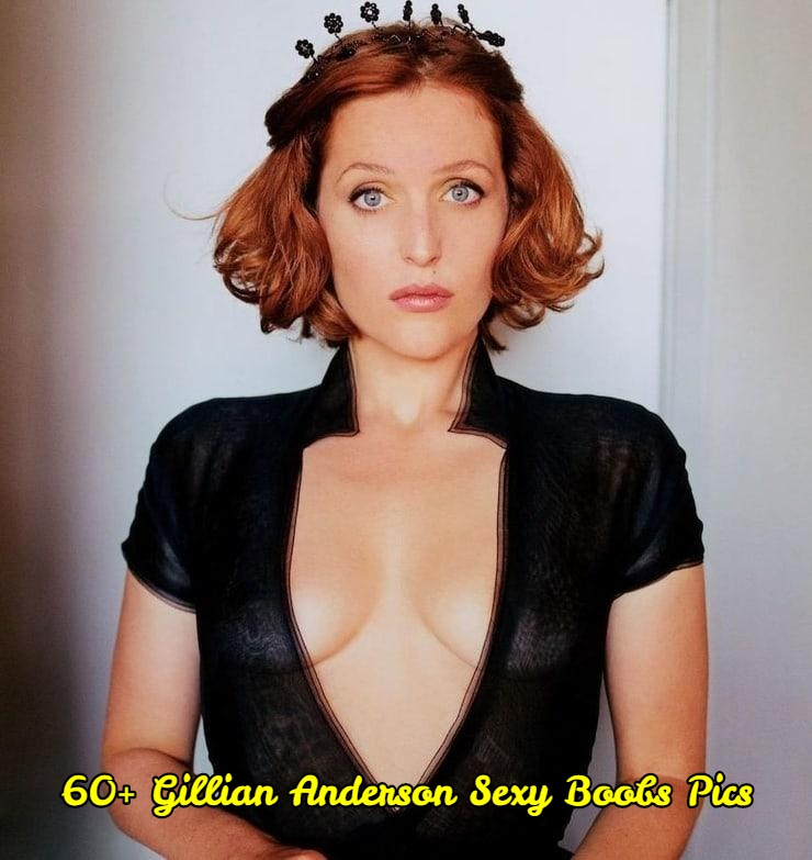Gillian Anderson sexy boobs pics.