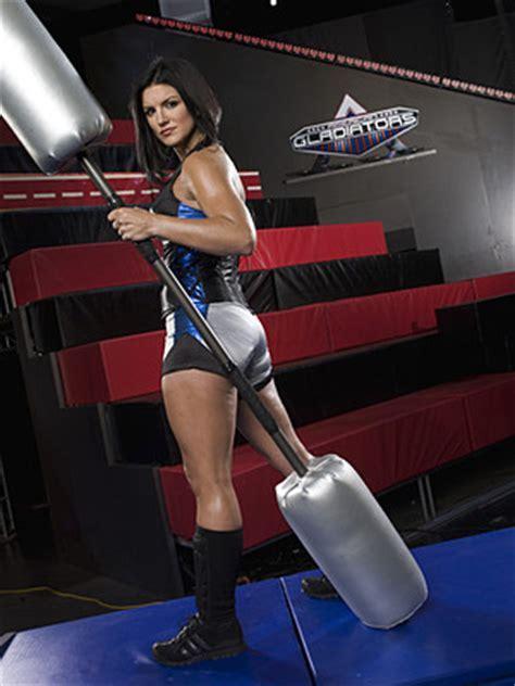 Gina Carano awesome booty (2)