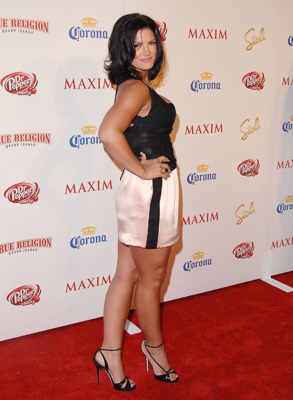 Gina Carano big ass (1)