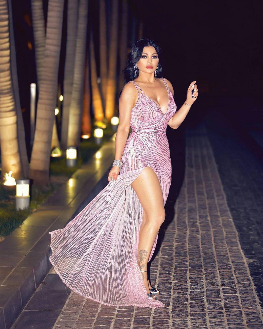Haifa Wehbe hot side boobs pics
