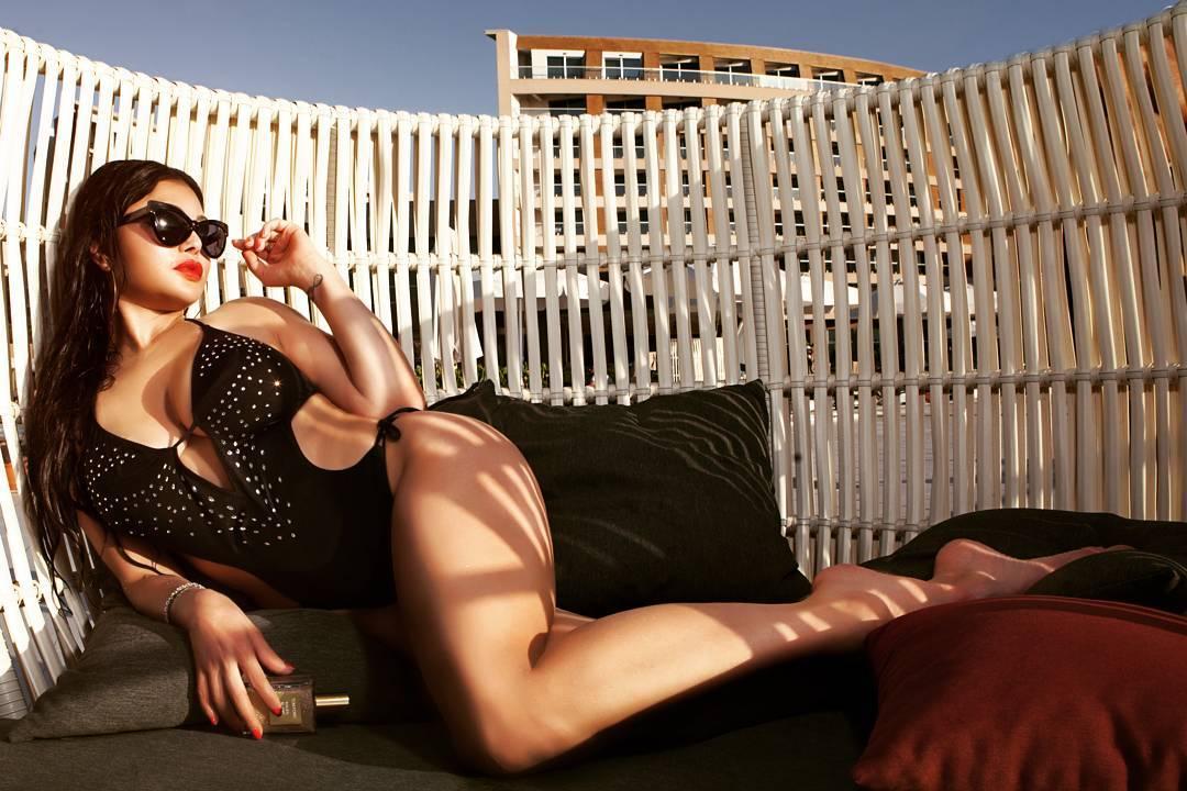 Haifa Wehbe lingerie pics