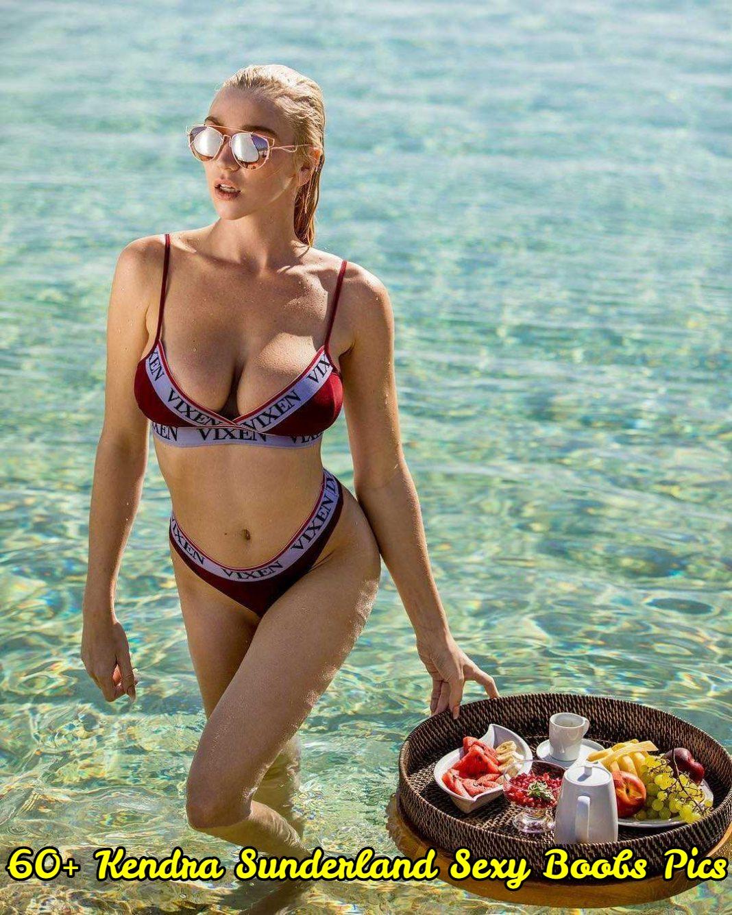 Kendra Sunderland sexy boobs pics