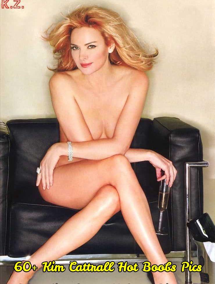 Kim Cattrall hot boobs pics