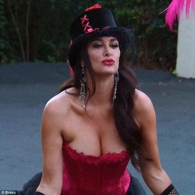 Kyle Richards cleavage pics