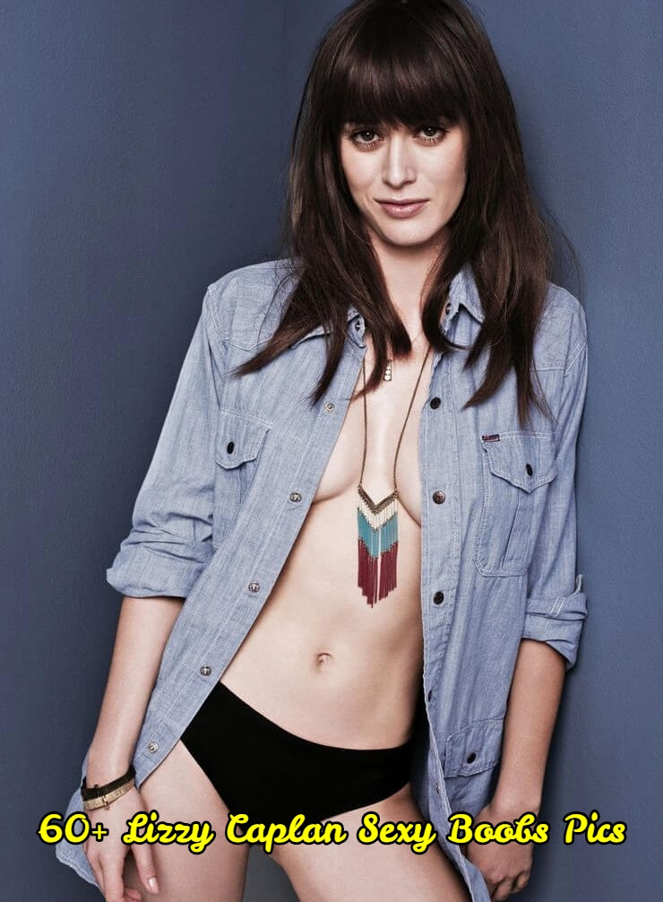 Lizzy Caplan sexy boobs pics.