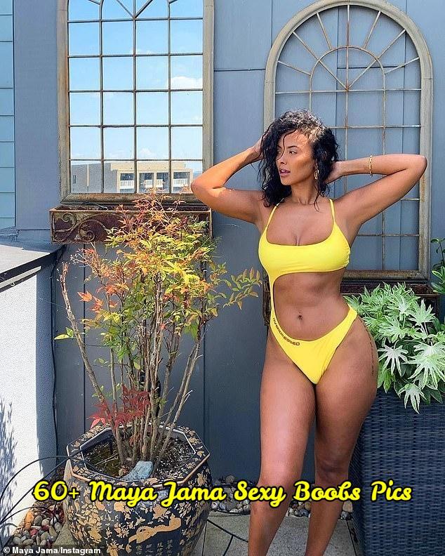 Maya Jama sexy boobs pics