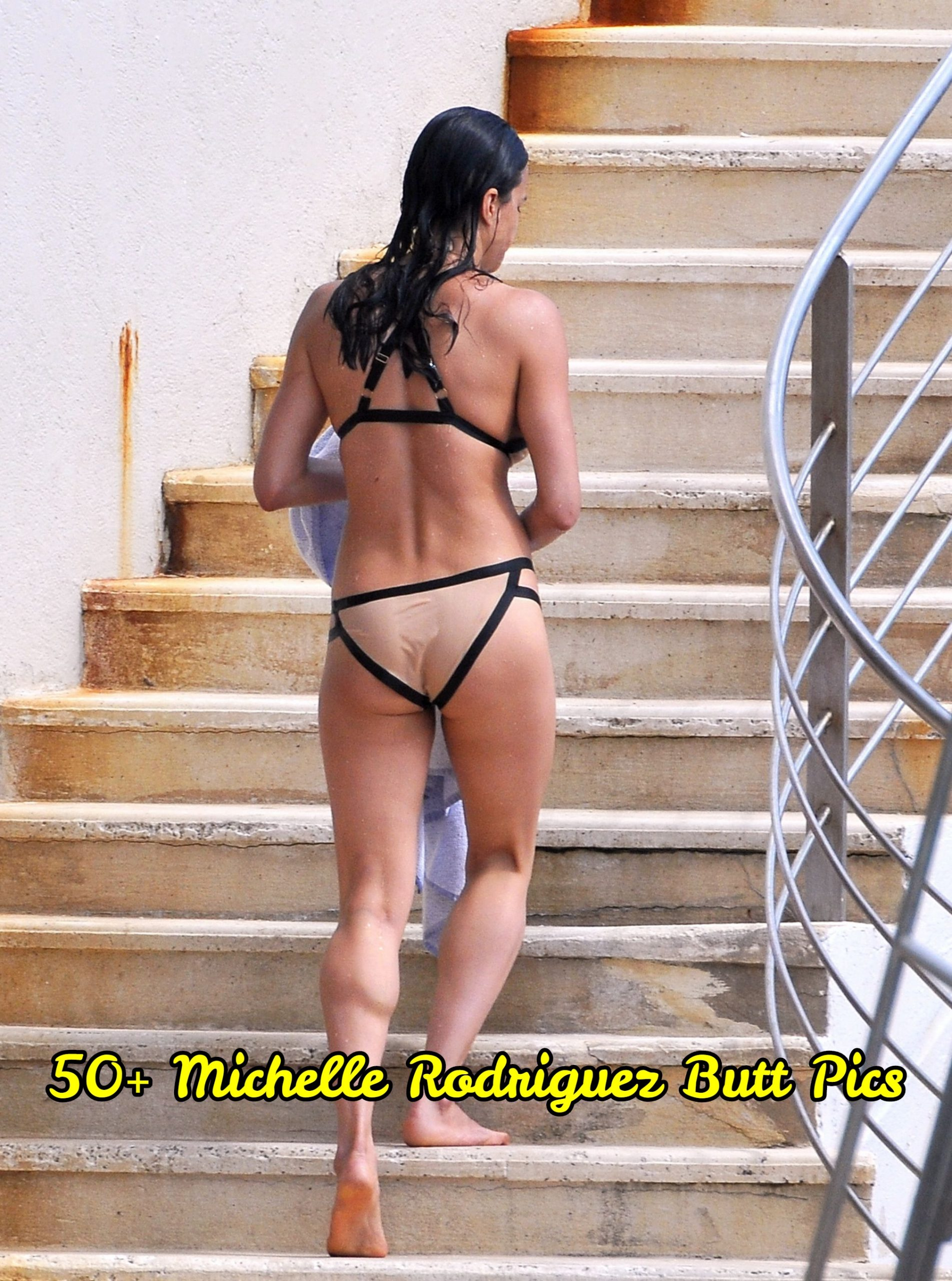 Michelle Rodriguez butt pics.