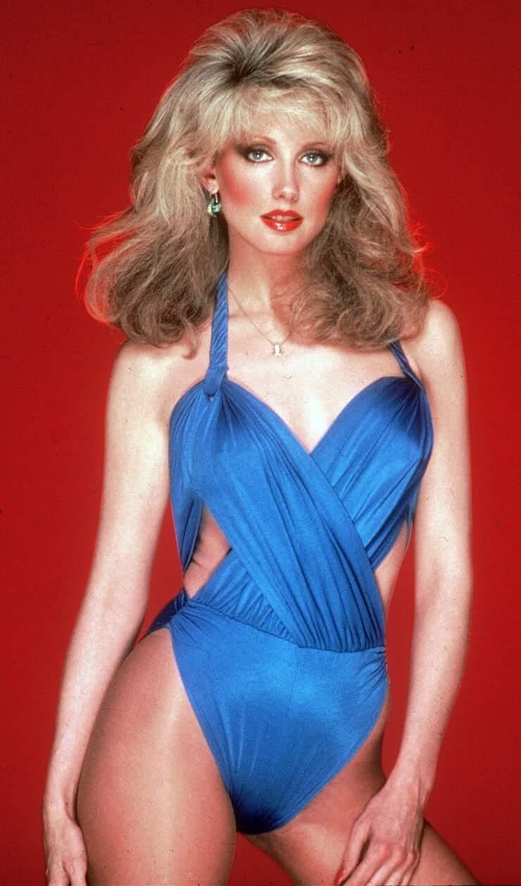 Morgan Fairchild sexy lingerie pics