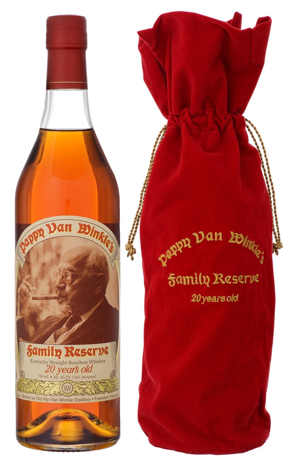 Old Rip Van Winkle 'Pappy Van Winkle's Family Reserve' 20-Year-Old Kentucky Straight Bourbon