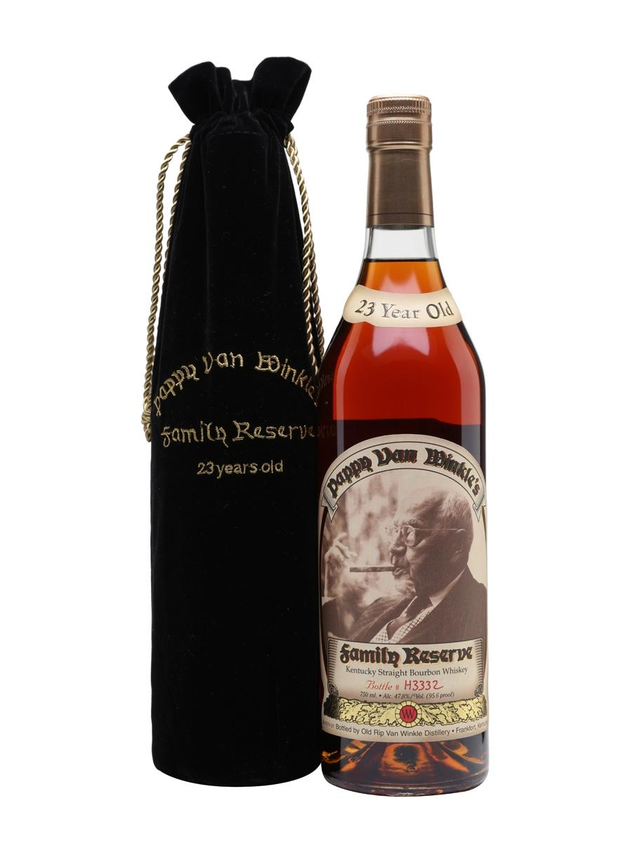 Old Rip Van Winkle 'Pappy Van Winkle's Family Reserve' 23-Year-Old Kentucky Straight Bourbon Whiskey