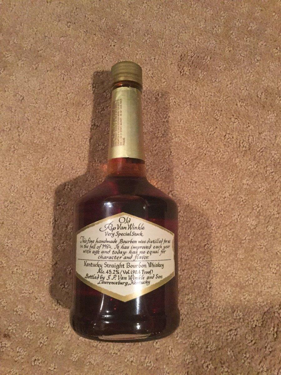 Old Rip Van Winkle Handmade Family Reserve 16-Year-Old Kentucky Straight Bourbon