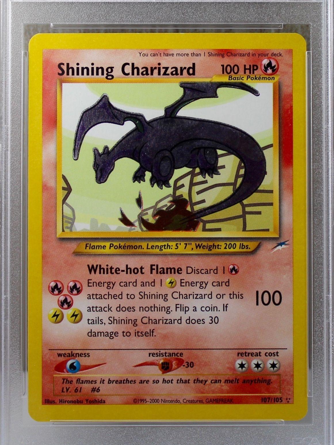 Shining Charizard Card