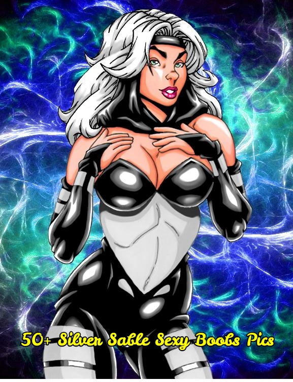 Silver Sable sexy boobs pics