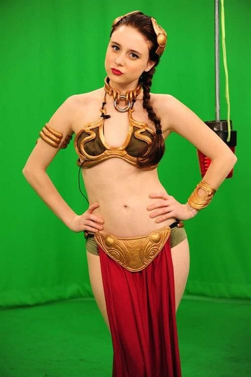 Slave Princess Leia big boobs pics