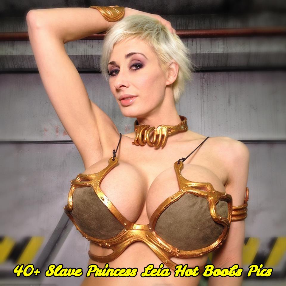 Slave Princess Leia hot boobs pics