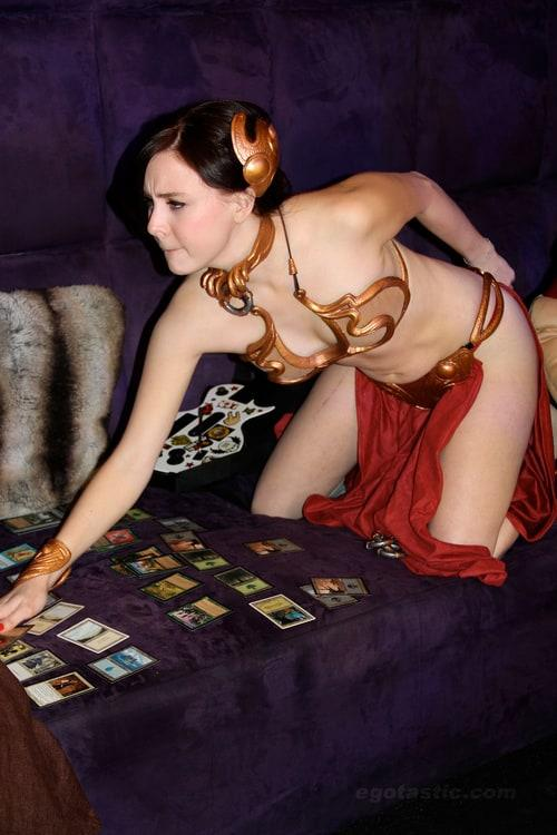 Slave Princess Leia hot look pictures
