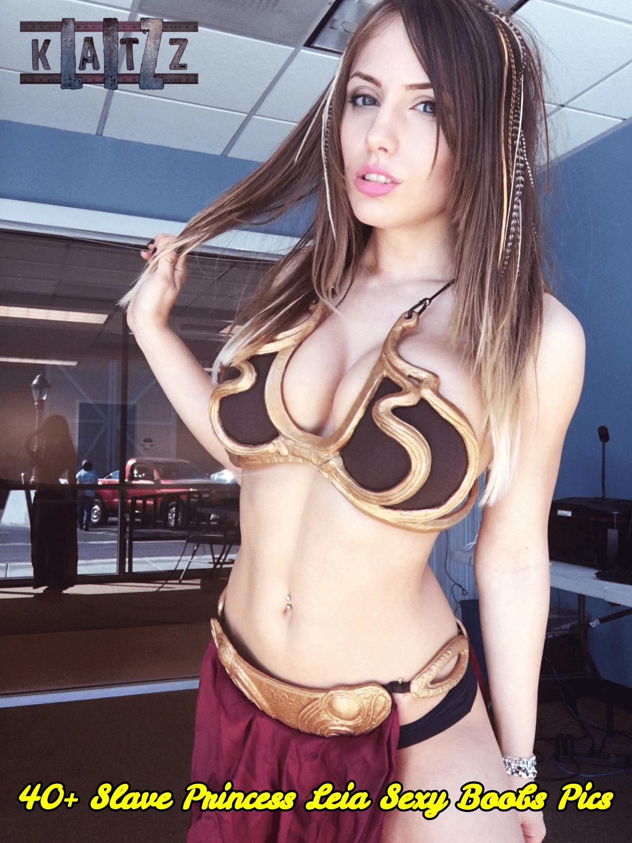 Slave Princess Leia sexy boobs pics
