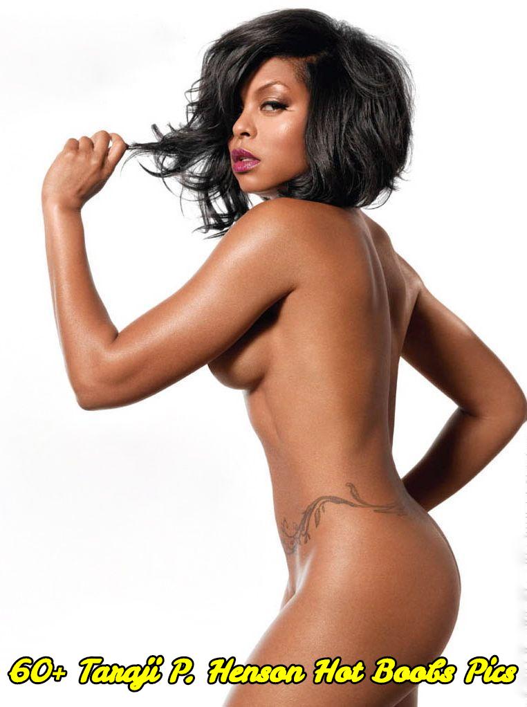 Taraji P. Henson hot boobs pics