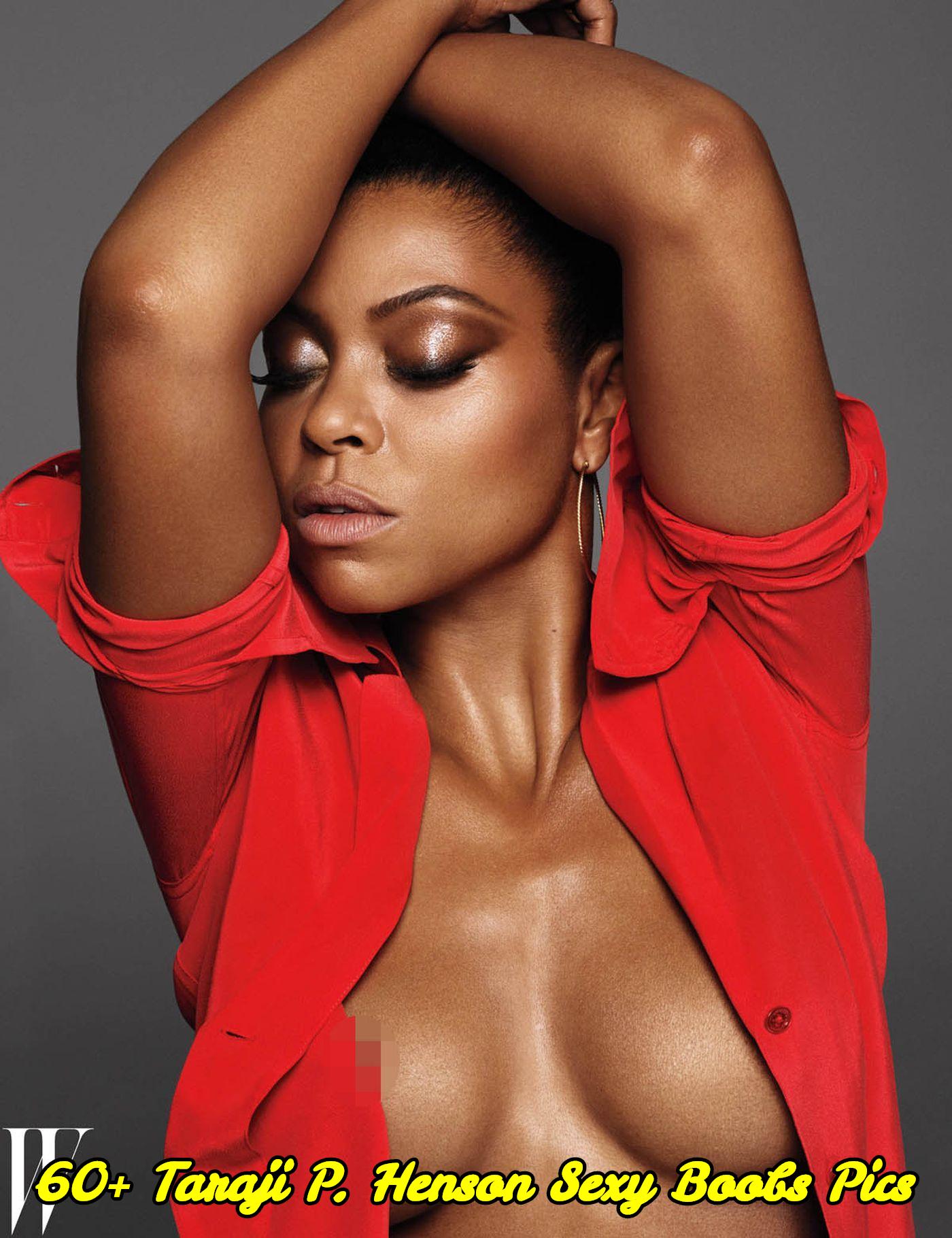 Taraji P. Henson sexy boobs pics