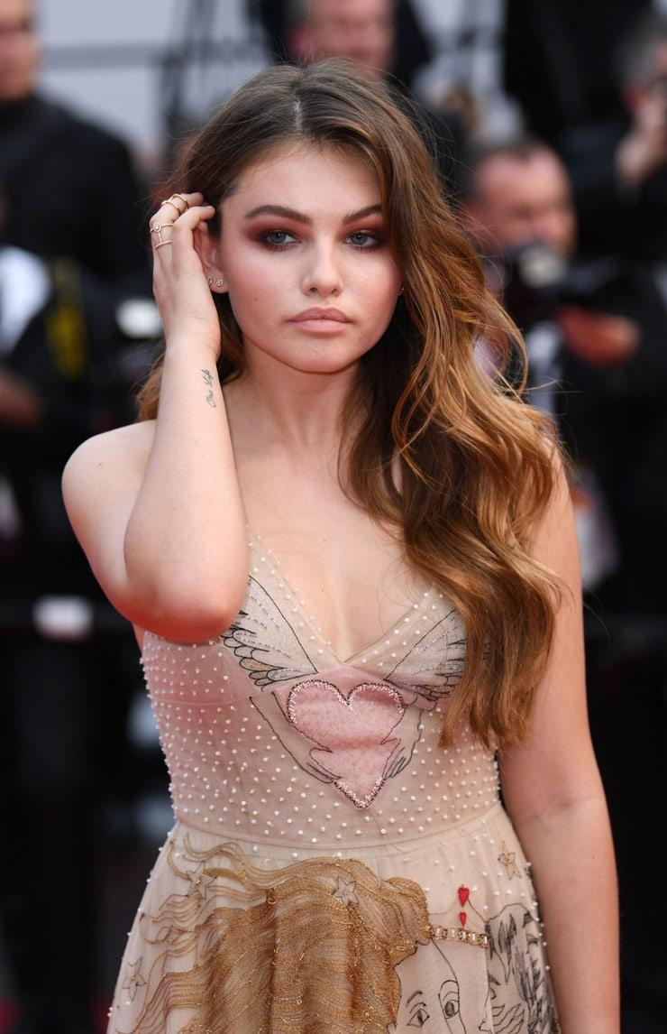 Thylane Blondeau tits pictures