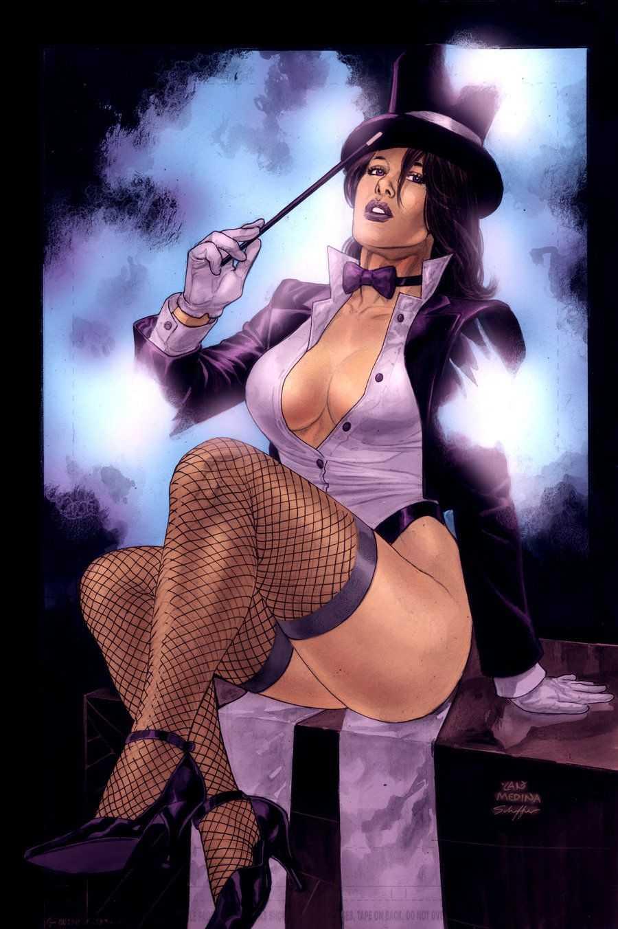 Zatanna big tits (2)