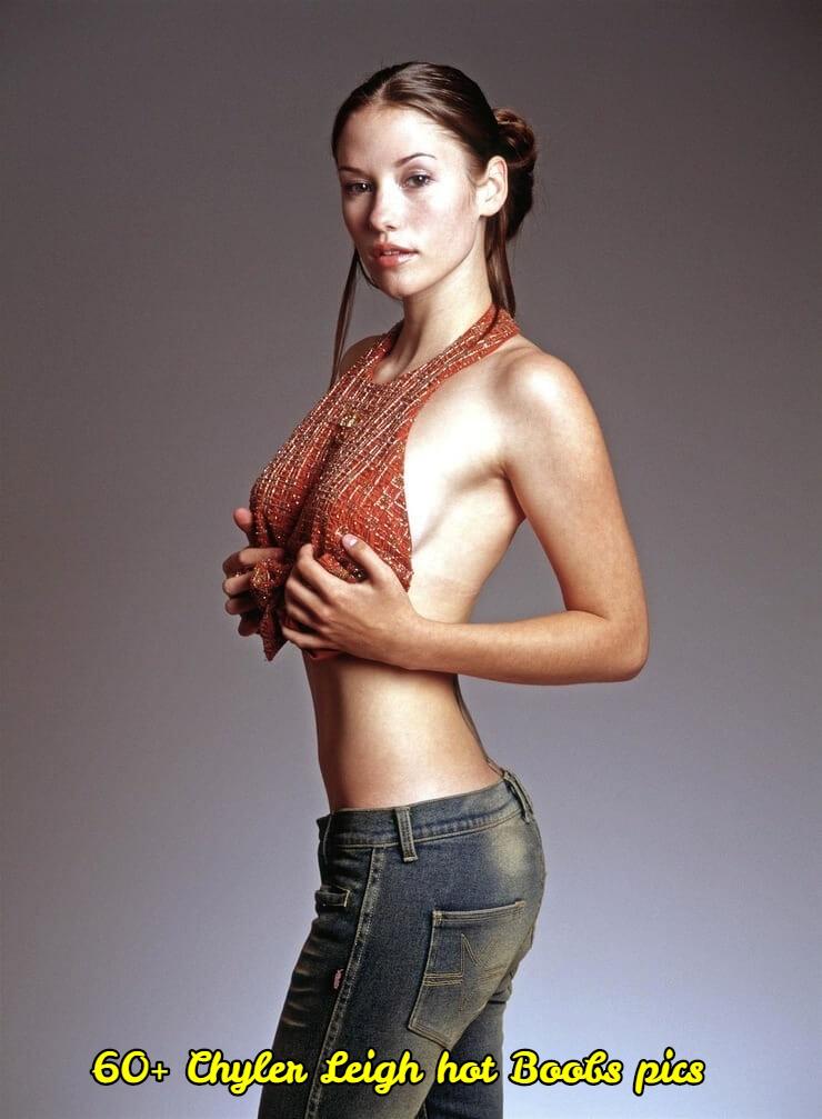 chyler leigh hot boobs pics
